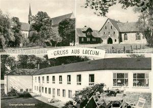 AK / Ansichtskarte Loccum Kloster Nordtor Evangelische Akademie Kat. Rehburg Loccum