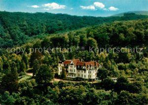 AK / Ansichtskarte Hedemuenden Erholungsheim Haus der Heimat Flugaufnahme Kat. Hann. Muenden