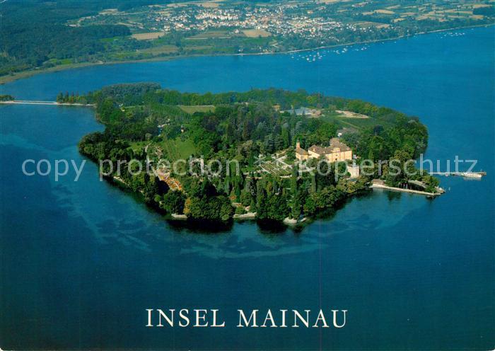 Insel Mainau Karte.Ak Ansichtskarte Insel Mainau Fliegeraufnahme Kat Konstanz Bodensee