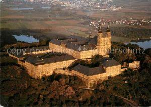 AK / Ansichtskarte Kloster Banz Fliegeraufnahme Lichterfels Kat. Bad Staffelstein