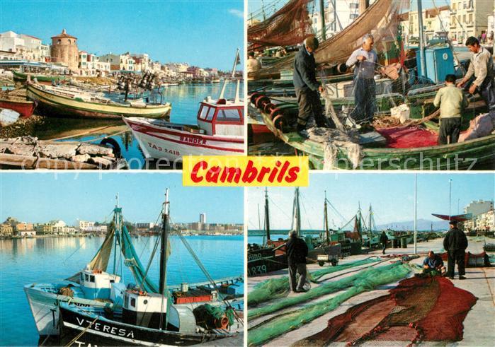 AK / Ansichtskarte Cambrils Hafen Kat. Costa Dorada