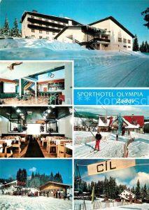 AK / Ansichtskarte Churanov Sporthotel Olympia Zadov Wintersportplatz Kat. Churanow Stach