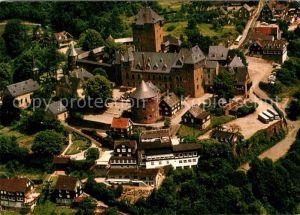 AK / Ansichtskarte Burg Wupper Schloss Warhzeichen des Bergischen Landes Fliegeraufnahme Kat. Solingen