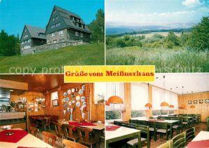 AK / Ansichtskarte Hessisch Lichtenau Meissnerhaus TV Die Naturfreunde am Hohen Meissner Landschaftspanorama Kat. Hessisch Lichtenau