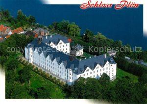 AK / Ansichtskarte Ploen See Schloss Naturpark Holsteinische Schweiz Fliegeraufnahme Kat. Ploen