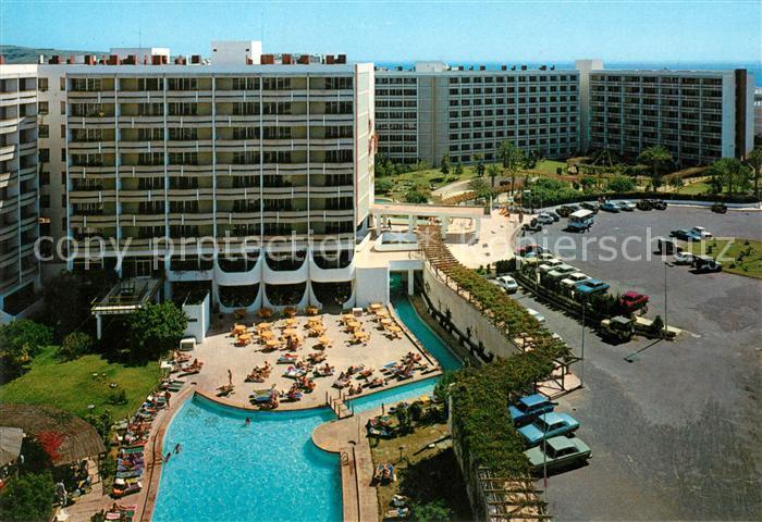 AK / Ansichtskarte Playa del Ingles Gran Canaria Fliegeraufnahme Hotel Buenaventura Playa Kat. San Bartolome de Tirajana