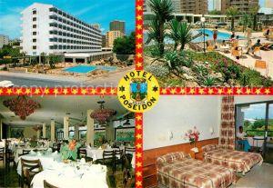 AK / Ansichtskarte Benidorm Hotel Poseidon  Kat. Costa Blanca Spanien