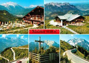 AK / Ansichtskarte Oberau Berchtesgaden Rossfeld  Kat. Berchtesgaden