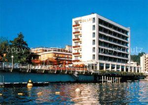 AK / Ansichtskarte Paradiso Lago di Lugano Hotel Du Lac Seehof Restaurant L Arazzo Kat. Paradiso