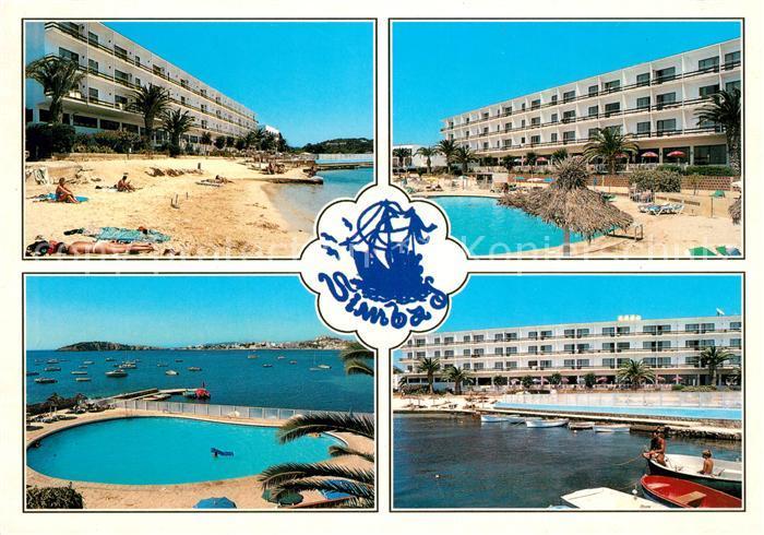 AK / Ansichtskarte Talamanca Hotel Swimming Pool Strand Kat. Ibiza Islas Baleares