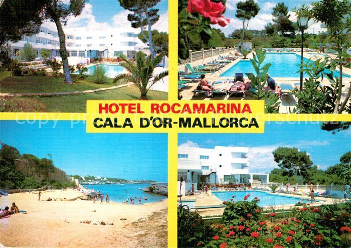 AK / Ansichtskarte Cala d Or Hotel Rocamarina Swimming Pool Strand Kat. Mallorca