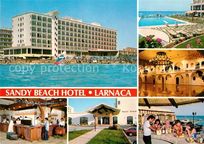 AK / Ansichtskarte Larnaca Sandy Beach Hotel Schwimmbad Kat. Larnaca Cyprus