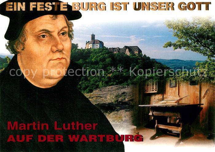 AK / Ansichtskarte Luther Martin Wartburg Eisenach  Luther Martin Kat. Persoenlichkeiten