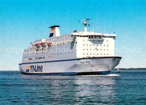 AK / Ansichtskarte Schiffe Ships Navires M.F. Peter Pan TT Line  Schiffe Ships Navires