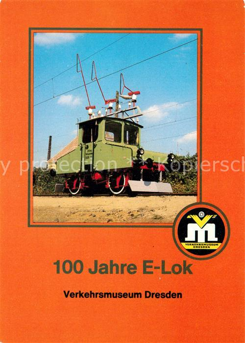 AK / Ansichtskarte Lokomotive Erste Drehstromversuchslok von 1898 Lokomotive Kat. Eisenbahn