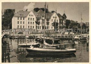 AK / Ansichtskarte Kiel Olympiahafen Segelboote Kiel Kat. Kiel
