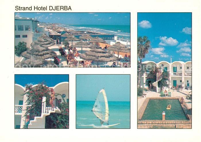 AK / Ansichtskarte Djerba Strand Hotel Pool Strand Djerba Kat. Djerba
