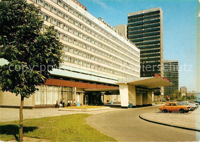 AK / Ansichtskarte Halle Saale Interhotel Stadt Halle Halle Saale Kat. Halle