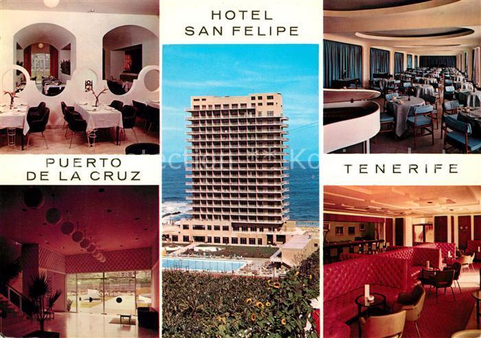 Ak ansichtskarte puerto de la cruz hotel valle mar poll puerto de la cruz kat puerto de la - Hotel san felipe tenerife puerto de la cruz ...