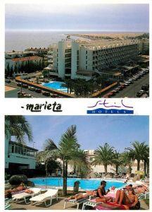 AK / Ansichtskarte Playa del Ingles Gran Canaria Apartamentos Marieta Playa del Kat. San Bartolome de Tirajana