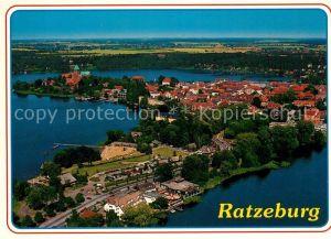 AK / Ansichtskarte Ratzeburg Fliegeraufnahme Ratzeburg Kat. Ratzeburg