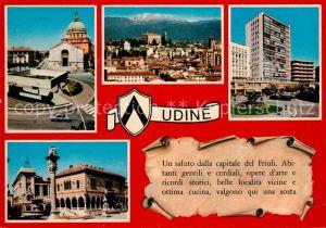 AK / Ansichtskarte Udine Kathedrale Denkmal Panorama Udine Kat. Udine
