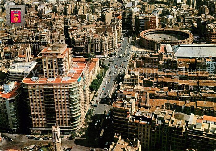AK / Ansichtskarte Valencia Valenciana Fliegeraufnahme Valencia Valenciana Kat. Valencia