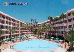 AK / Ansichtskarte Playa del Ingles Gran Canaria Hotel Broncemar Playa del Kat. San Bartolome de Tirajana