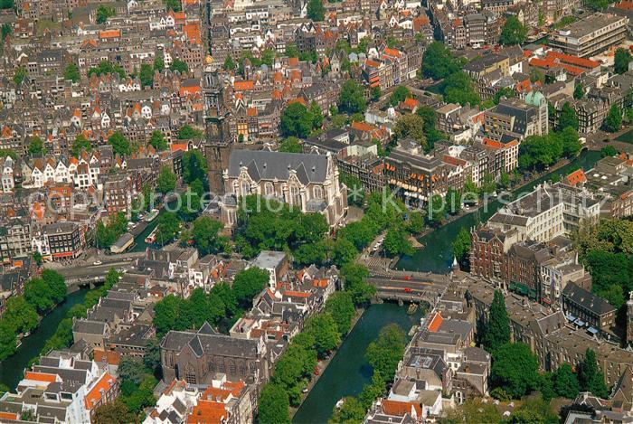 AK / Ansichtskarte Amsterdam Niederlande Fliegeraufnahme Amsterdam Niederlande Kat. Amsterdam