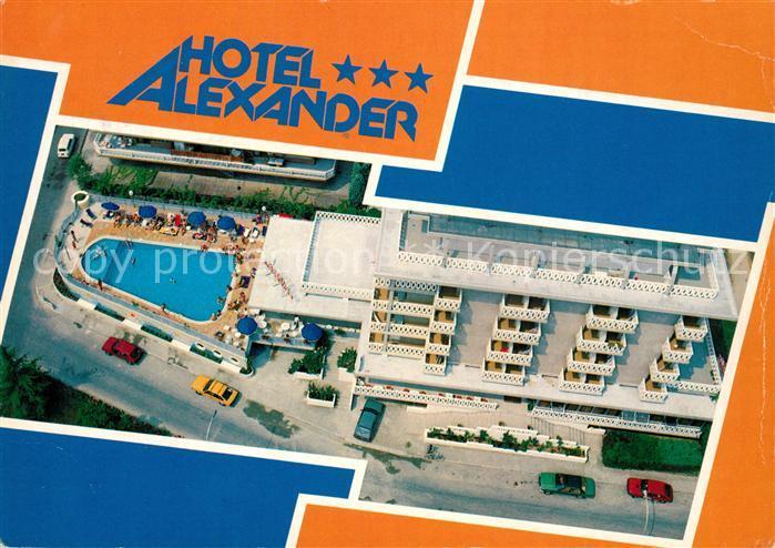 AK / Ansichtskarte Bibione Hotel Alexander Fliegeraufnahme Bibione
