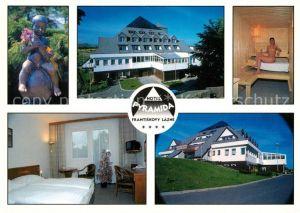 AK / Ansichtskarte Frantiskovy Lazne Hotel Pyramida Sauna Frantiskovy Lazne Kat. Franzensbad