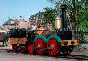 AK / Ansichtskarte Lokomotive Saxonia Gueterbahnhof Dresden  Lokomotive Kat. Eisenbahn