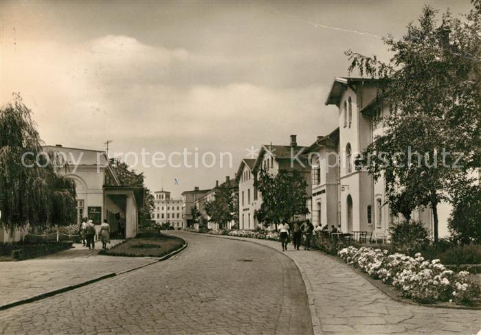 AK / Ansichtskarte Heiligendamm Ostseebad Sanatorium fuer Werktaetige Heiligendamm Ostseebad Kat. Bad Doberan