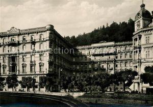 AK / Ansichtskarte Karlovy Vary Grandhotel Moskva Cedok Karlovy Vary Kat. Karlovy Vary Karlsbad