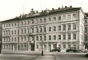 AK / Ansichtskarte Dresden Taschenbergpalais vor Zerstoerung 1945 Repro Dresden Kat. Dresden Elbe