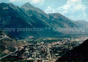 AK / Ansichtskarte Martigny VS Fliegeraufnahme Rhonetal Martigny Kat. Martigny