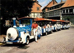 AK / Ansichtskarte Wernigerode Harz Bimmelbahn Wernigerode Harz Kat. Wernigerode