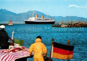 AK / Ansichtskarte Dampfer Oceanliner MS Europa  Dampfer Oceanliner Kat. Schiffe