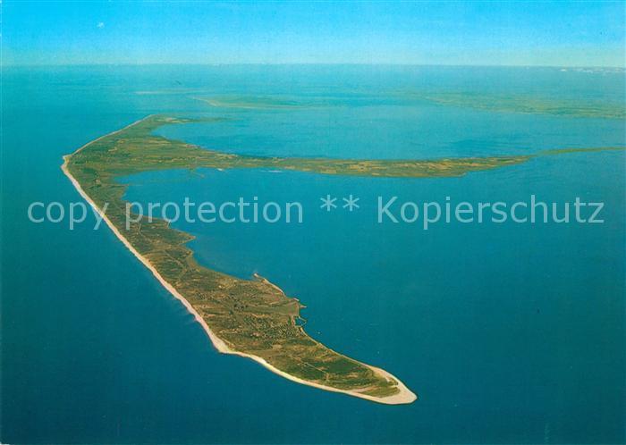 AK / Ansichtskarte Insel Sylt Nordseeinsel Koenigin der Nordsee Fliegeraufnahme aus etwa 3500 m Hoehe Insel Sylt Kat. Westerland
