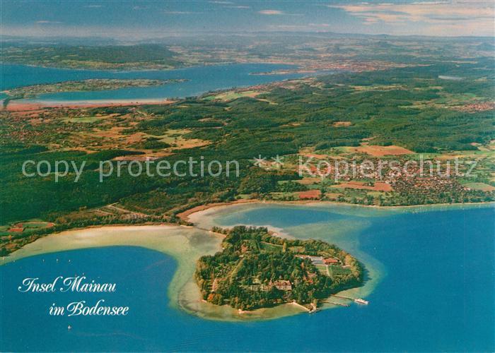 AK / Ansichtskarte Insel Mainau Fliegeraufnahme Insel Mainau Kat. Konstanz Bodensee