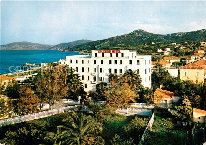 AK / Ansichtskarte Ile Rousse Le Splendid Hotel pres de la plage Ile Rousse