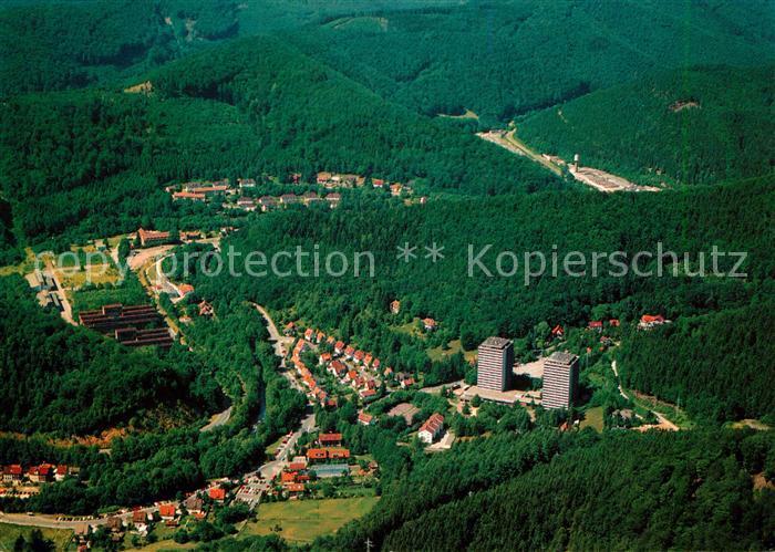 AK / Ansichtskarte Bad Lauterberg Fliegeraufnahme Bad Lauterberg Kat. Bad Lauterberg im Harz