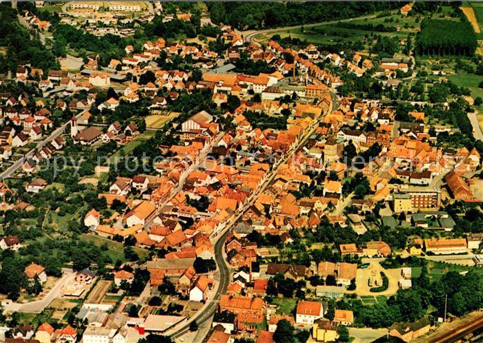 AK / Ansichtskarte Hessisch Oldendorf Fliegeraufnahme Hessisch Oldendorf Kat. Hessisch Oldendorf