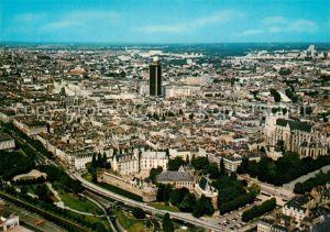 Nantes Loire Atlantique Vue aerienne Le Chateau La Cathedrale Saint Pierre La Tour Bretagne Nantes Loire Atlantique Kat. Nantes