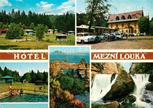 Hrensko Hotel Mezni Louka Prebischtor  Hrensko Kat. Herrnskretschen