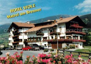 Matrei Brenner Hotel Stolz Matrei Brenner Kat. Matrei am Brenner