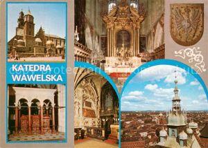 Krakow Krakau Katedra Wawelska Krakow Krakau
