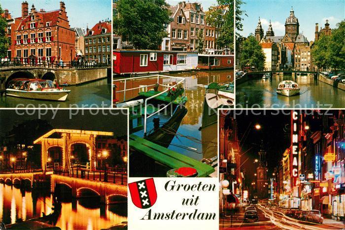 Amsterdam Niederlande  Amsterdam Niederlande Kat. Amsterdam