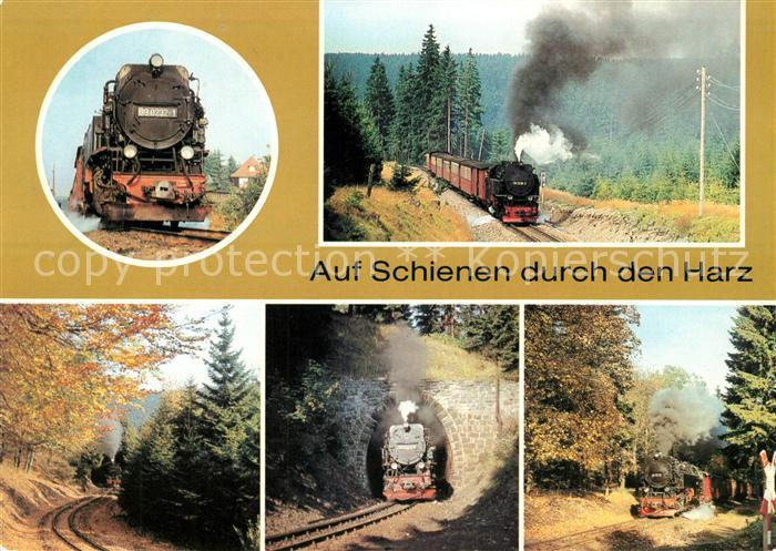 Lokomotive Harzquerbahn  Lokomotive Kat. Eisenbahn