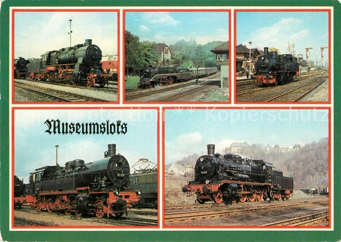 Lokomotive Museumsloks  Lokomotive Kat. Eisenbahn